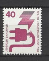 BERLIN - Mi-Nr. 407 Freimarken Unfallverhütung Postfrisch - Berlin (West)