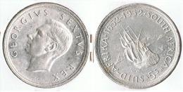 SUDAFRICA SUID AFRIKA 5 SHILLING 1952 PLATA SILVER G1 - Sudáfrica