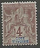 COTE-D'IVOIRE TYPE GROUPE N� 3 NEUF**  LUXE SANS CHARNIERE / MNH