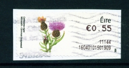 IRELAND  -  2010  Post And Go Label  Wild Flowers - Common Knapweed  Used As Scan - Used Stamps