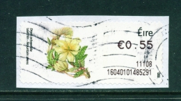 IRELAND  -  2010  Post And Go Label  Wild Flowers - Mountain Avens  Used As Scan - Used Stamps