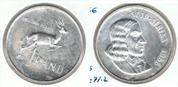SUDAFRICA SUID AFRIKA RAND 1966 PLATA SILVER G1 BONITA - Sudáfrica