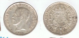 SUECIA CORONA 1941 PLATA SILVER G1 BONITA - Suecia