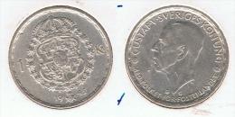 SUECIA CORONA 1945 PLATA SILVER G1 BONITA - Suecia