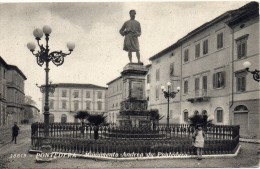 Toscana-pisa-pontedera Veduta Monumento Andrea Da Pontedera - Italia