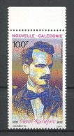 Nlle CALEDONIE 1993 PA N° 302 **  Neuf = MNH Superbe Cote 2,90 € Henri Rochefort écrivains Writers Peintures Painting - Aéreo