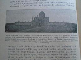 Persia  IRAN - Tehran  -Persian Ruler's Tomb  -  Ca  1910- Hungarian Print  RI.254 - Autres Collections
