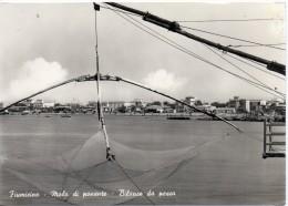 Lazio-fiumicino-fiumicino Veduta Molo Di Ponente Bilance Da Pesca - Fiumicino