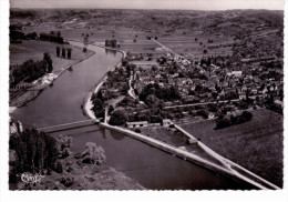 Villevallier - Vue Générale Aérienne - L'Yonne Et Le Pont Suspendu - France