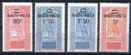 Haute-Volta  Obervolta  Y&T 35* - 38* - Obervolta (1920-1932)