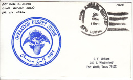 Cover Operation Desert Storm, Gulf     (Red-1364) - United Arab Emirates