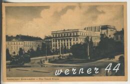 Warschau V.1941 Dreikreuzplatz Mit Hotel & Strassenbahn  (3297) - Polen