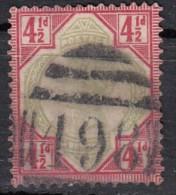 Cinquantenaire Du Régne De Victoria  YT N°98  4 1/2d - 1840-1901 (Regina Victoria)