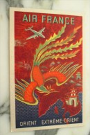 CPA PUB AIR FRANCE EXTREME  ORIENT - 1946-....: Ere Moderne