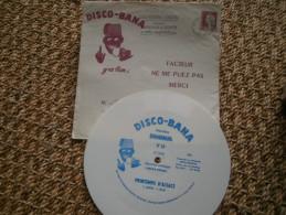 """Disque Et Enveloppe Disco-bana 1962 """"Printemps D'Alsace"""". Banania - Publicidad"""