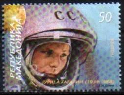 Macedonia 2009 Gagarin, Space, MNH - Space