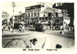 (696) Very Old Postcard - Carte Ancienne - Pakistan - Karachi Preedy Street - Pakistan
