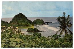 (696) Very Old Postcard - Carte Ancienne - American Samoa Coastal Scene - American Samoa