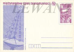 W POLAND - 1977.05.17. Cp 673 International Telecommunication Day - Stamped Stationery