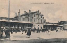 26n - 38 - Grenoble - Isère - La Gare - E.R N° 51 - Grenoble