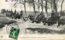 L Artillerie Montée Et Les Obstacles Passage D'un Gué - Guerre 1914-18