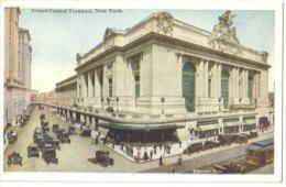 "Carte Postale  Ancienne""U.S.A.""New York Grand Central Terminal - Grand Central Terminal"