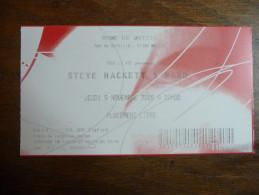 Ticket de Concert Steve Hackett (Genesis) D�me De Mutzig (67) 2009