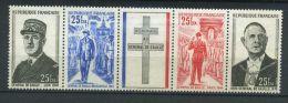 REUNION C F A ( POSTE ) : Y&T N° 403A  TIMBRES  NEUFS  SANS  TRACE  DE  CHARNIERE , A  VOIR . - Réunion (1852-1975)
