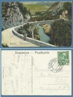 FRIULI VENEZIA GIULIA SLOVENIA -KOBARID - MOST CREZ SOCO - PONTE SOSPESO DETTO DI NAPOLEONE - 1904 - Gorizia