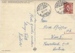 Norway 1961 Nordkapp North Cape Arctic Viewcard - Brieven En Documenten