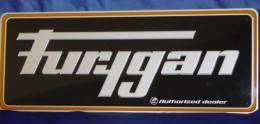"""Plaque Métal """"FURYGAN"""" Rectangulaire. - Plaques En Tôle (après 1960)"""