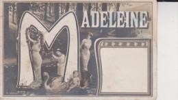 Madeleine 1906 - Nombres
