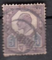Avénement D'Edouard VII   N°113   5d - Gebraucht