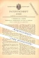 Original Patent - F. Bormann-Zix In Zürich , 1886 , Rebenschirm , Frostschutz Für Weinstöcke , Weinreben , Wein , Reben - Documents Historiques
