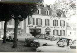 LOT DE 3 PHOTOS TREGASTEL DONT HOTEL DES AJONCS D'OR - Orte