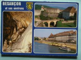 V08-25-B-doubs-besancon-et Ses Environs-gouffre De Poudrey-interieur Citadelle De Vauban-les Vedettes Bisontines-- - Besancon