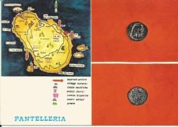 MONETA CONIATA A PANTELLERIA NEL 230 A.C. - Monete (rappresentazioni)