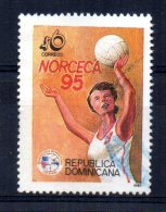 Dominican Republic - 1995 - Volleyball Centenary - Used - Dominicaine (République)