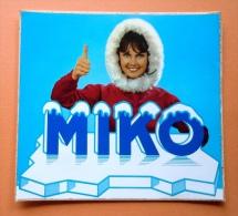 MIKO Sticker Autocollant Publicitaire Du Glacier - Stickers
