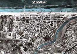 (D)  14  Cabourg  Carte  De La Ville - Cabourg