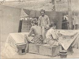 Ned.Indie-Batikkerij -Java - Indonesien