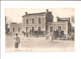 Mascara (le 06-08-1924) La Gare) Algérie - Algérie