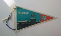 Fanion CHERBOURG (FRANCE) - Stoffabzeichen