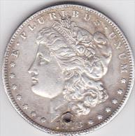 ETATS-UNIS . ONE DOLLAR 1878 . MORGAN .ARGENT - Émissions Fédérales