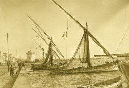 Grece Salonique Port Voiliers WWI Ancienne Photo SPA 1918 - War, Military
