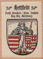 Werbemarke (Reklamemarke, Siegelmarke) Kaffee Hag : Wappen Von Hettstedt - Tea & Coffee Manufacturers