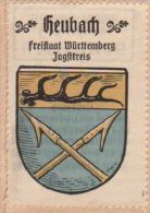 Werbemarke (Reklamemarke, Siegelmarke) Kaffee Hag : Wappen Von Heubach - Tea & Coffee Manufacturers