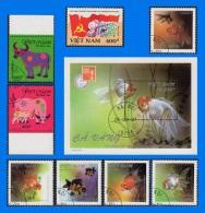 VN 1997-0001, Complete Year Set, CTO/MNH (12 Scans) - Vietnam