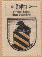 Werbemarke (Reklamemarke, Siegelmarke) Kaffee Hag : Wappen Von Hoym - Tea & Coffee Manufacturers