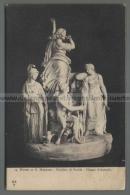 U5406 Arte SCULTURA GIUDIZIO DI PARIDE GIOSUE D ANTONIO MUSEO DI S. MARTINO FP (tur) - Sculptures
